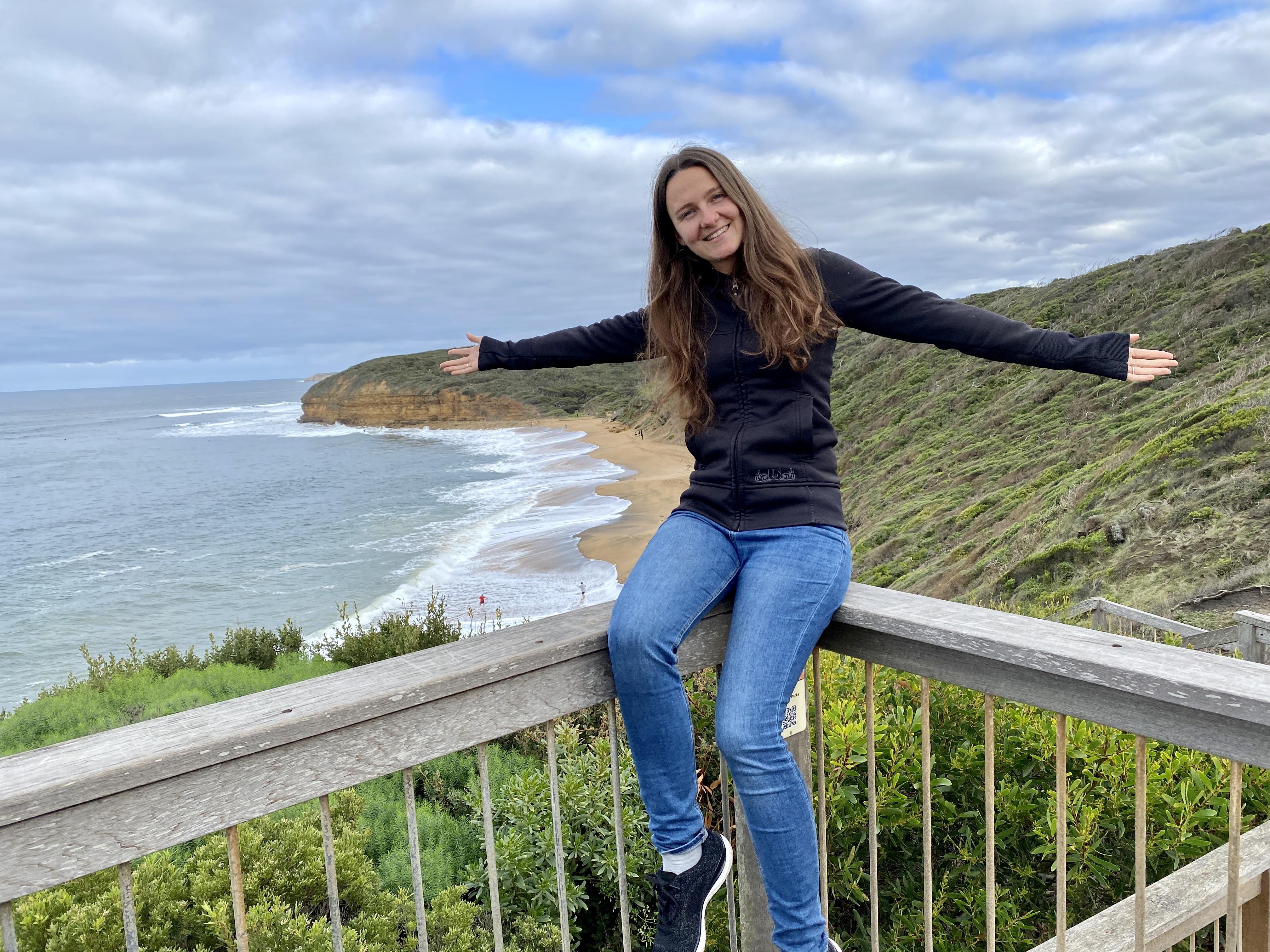 Anna in Australien
